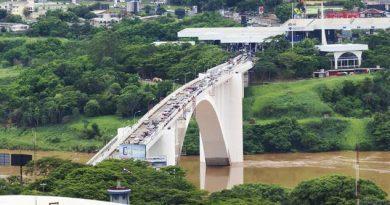 Chaves pede construção rápida de duas pontes entre Brasil e Paraguai