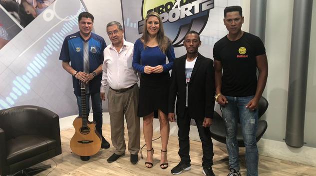 Aristides Cordeiro fala do Torneio Internacional no programa Giro do Esporte