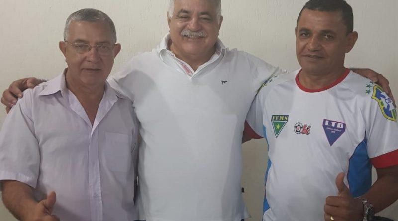Encontro Diretor da Tribuna do Pantanal, Presidente da FFMS e LFTL