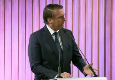 'É um país maravilhoso, que tem tudo para dar certo, mas o grande problema é a nossa classe política', diz Bolsonaro