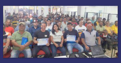 Grupo JUNTA em parceria com a Prefeitura realiza curso intensivo de máquinas pesadas na FUNSAT