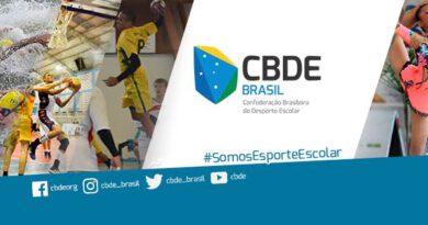 A Confederação Brasileira do Desporto Escolar realiza Seletiva Estadual Escolar de Basquete 3X3 nos dias 21 e 22