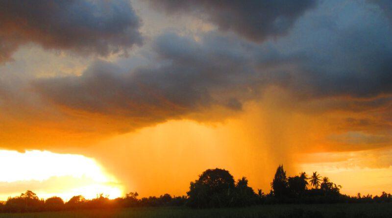 Sexta-feira com probabilidade de chuva na Capital e em diversas áreas do Estado