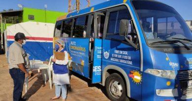 Blitz do coronavírus estará hoje na Aldeia Nova Canaã e a tarde no bairro Tiradentes