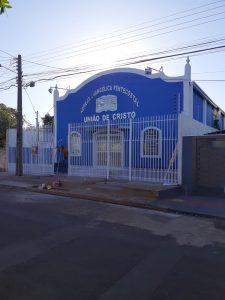 """Matriz da Igreja evangélica pentecostal """"União Em Cristo"""" no bairro Pioneiro em Campo Grande MS"""