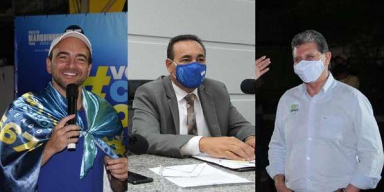 Três vereadores se colocam como candidatos à presidência da Câmara