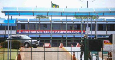 Colégio Militar de Campo Grande recebe investimento cinco vezes maior que da rede pública