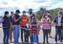 Ruta Bioceánica llega a los 175,43 km de ruta asfaltada y señalizada