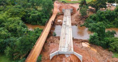 Empresa vai receber R$ 2,3 milhões para construir ponte de concreto em Porto Murtinho