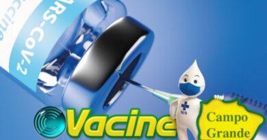 Covid-19 – Capital vacina no período da tarde nesta 4ª