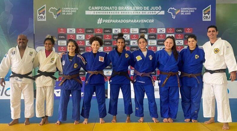 Judô de MS mantém tradição e termina o Brasileiro Sub-21 feminino no pódio
