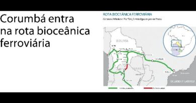 Corumbá entra na rota bioceânica ferroviária